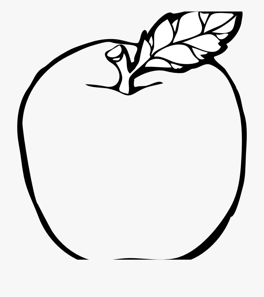Huge fruit. Black and white png