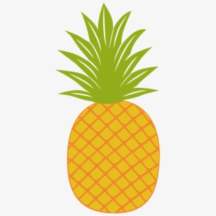 Huge pineapple. Free clipart download on