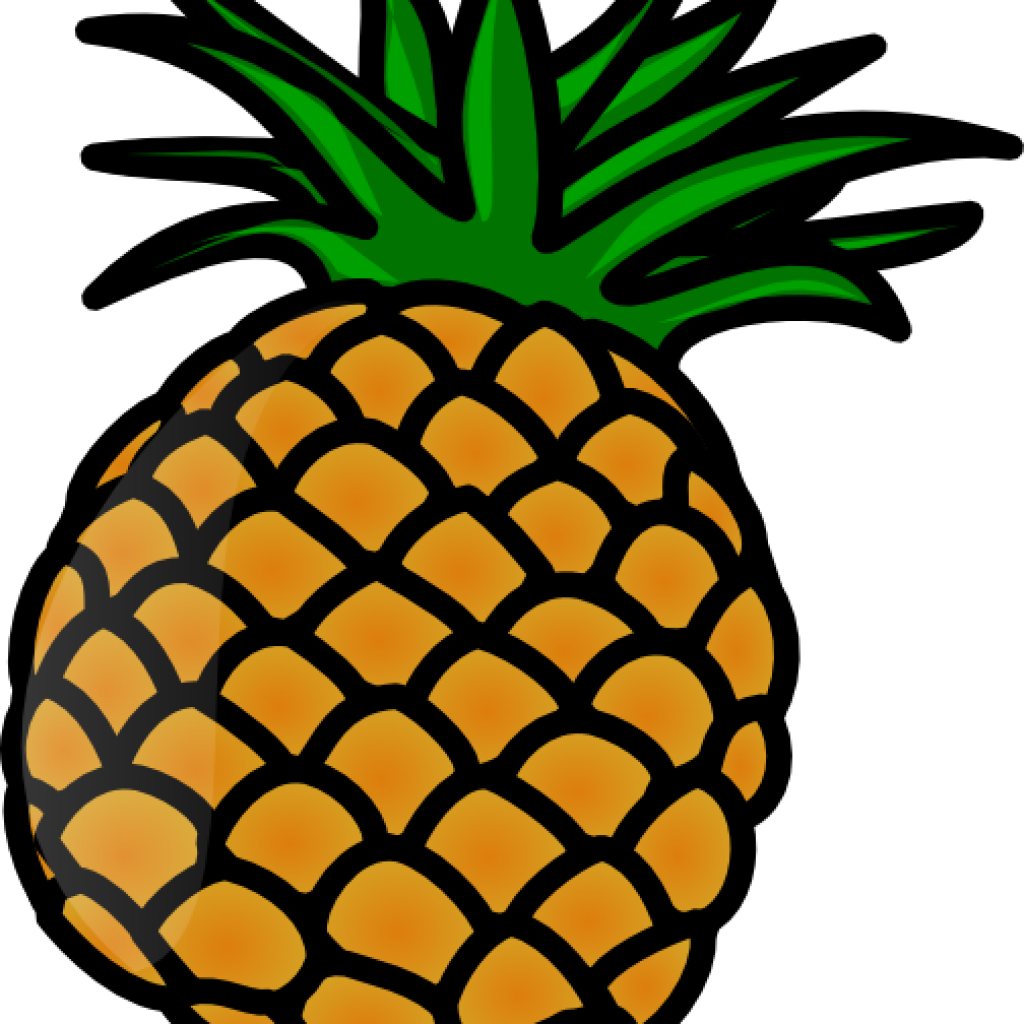 Huge pineapple. Clipart classy transparent free