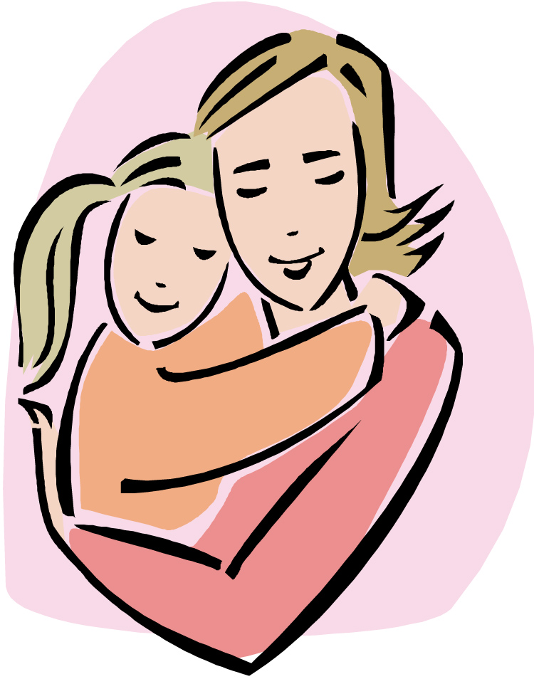 Hugging clipart mather. An open letter to