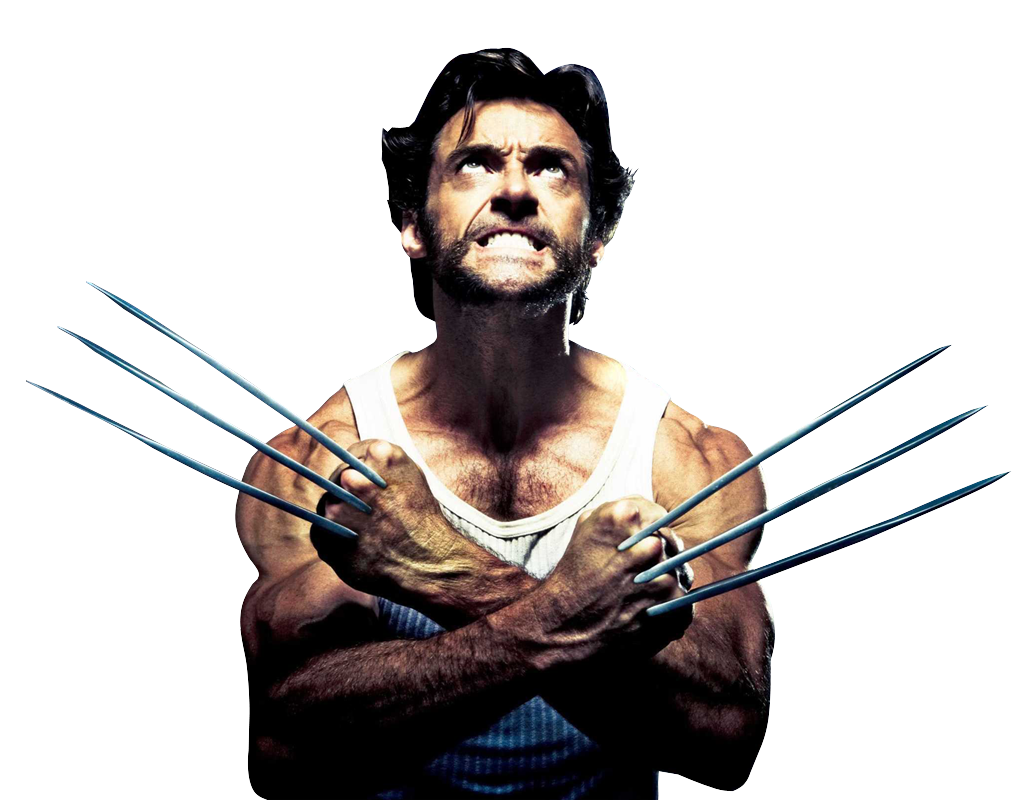 Hugh jackman image . Wolverine png clip art library library