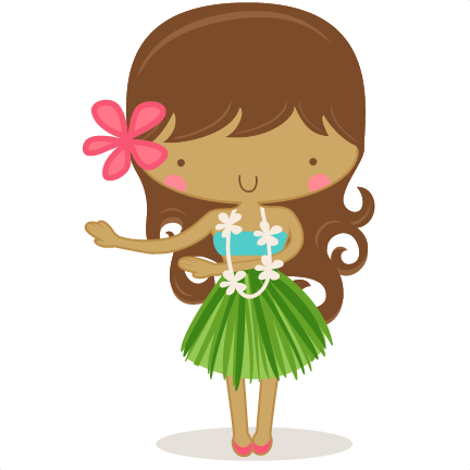 Hula girl png. Freebie of the day