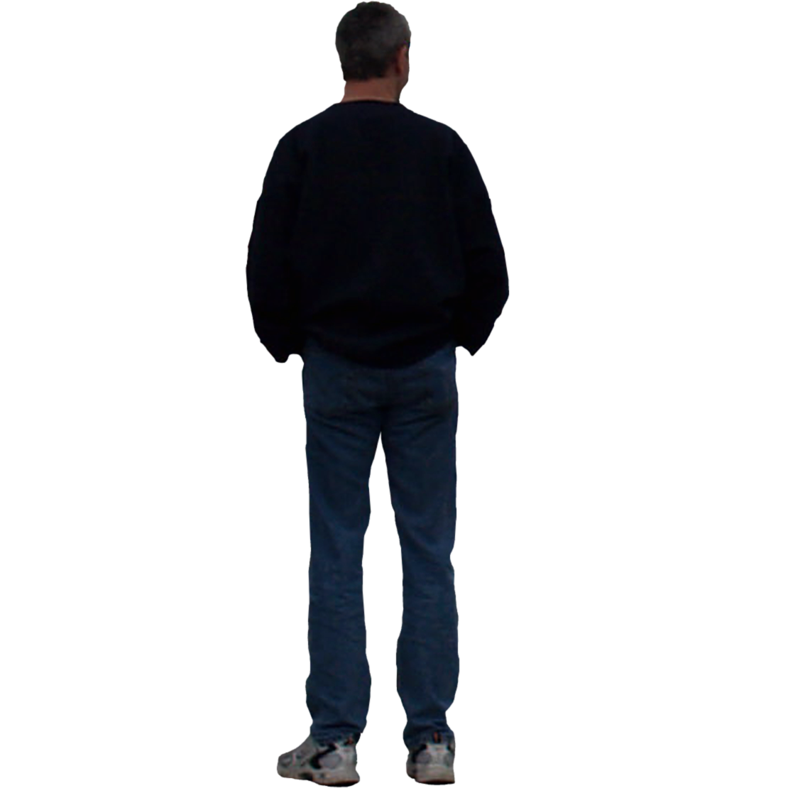 Human back png. Male body image