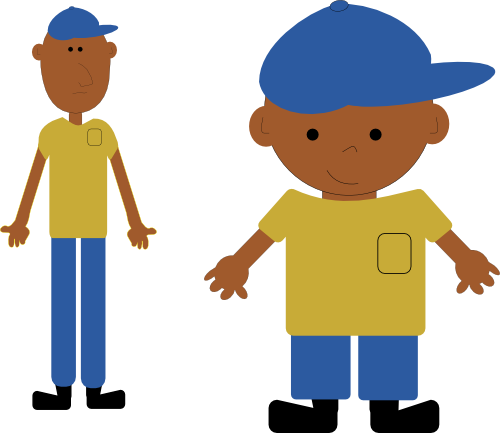 Body clipart illustration. Free human cartoon download