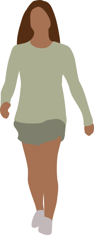Photo clipart human. Images free faceless woman