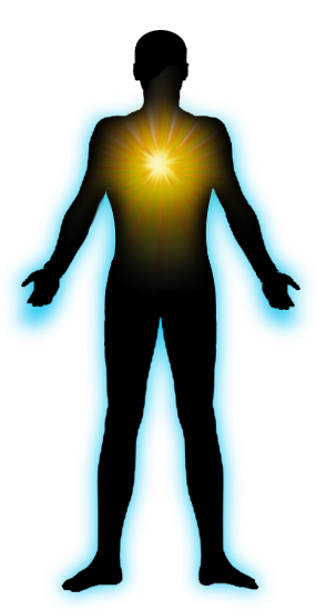 Human energy png. Center of self discovery