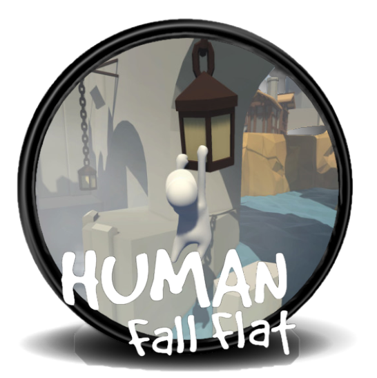 Human fall flat png. Icon game and program