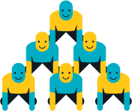 Human pyramid png. Tilde inc about us