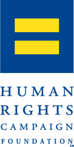 Communication vector campaign. Human rights foundation logo