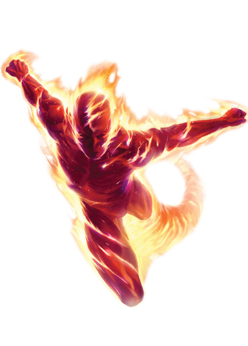 the human torch png