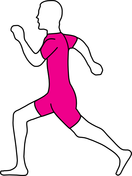 Run clipart jogging. Free animated people running