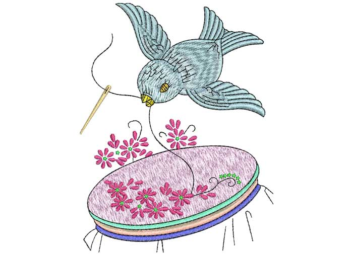 Hummingbird clipart embroidery digitizing. Vector art services