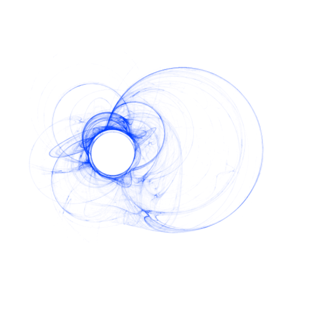 Blue drawing abstract. Humo azul png fondo