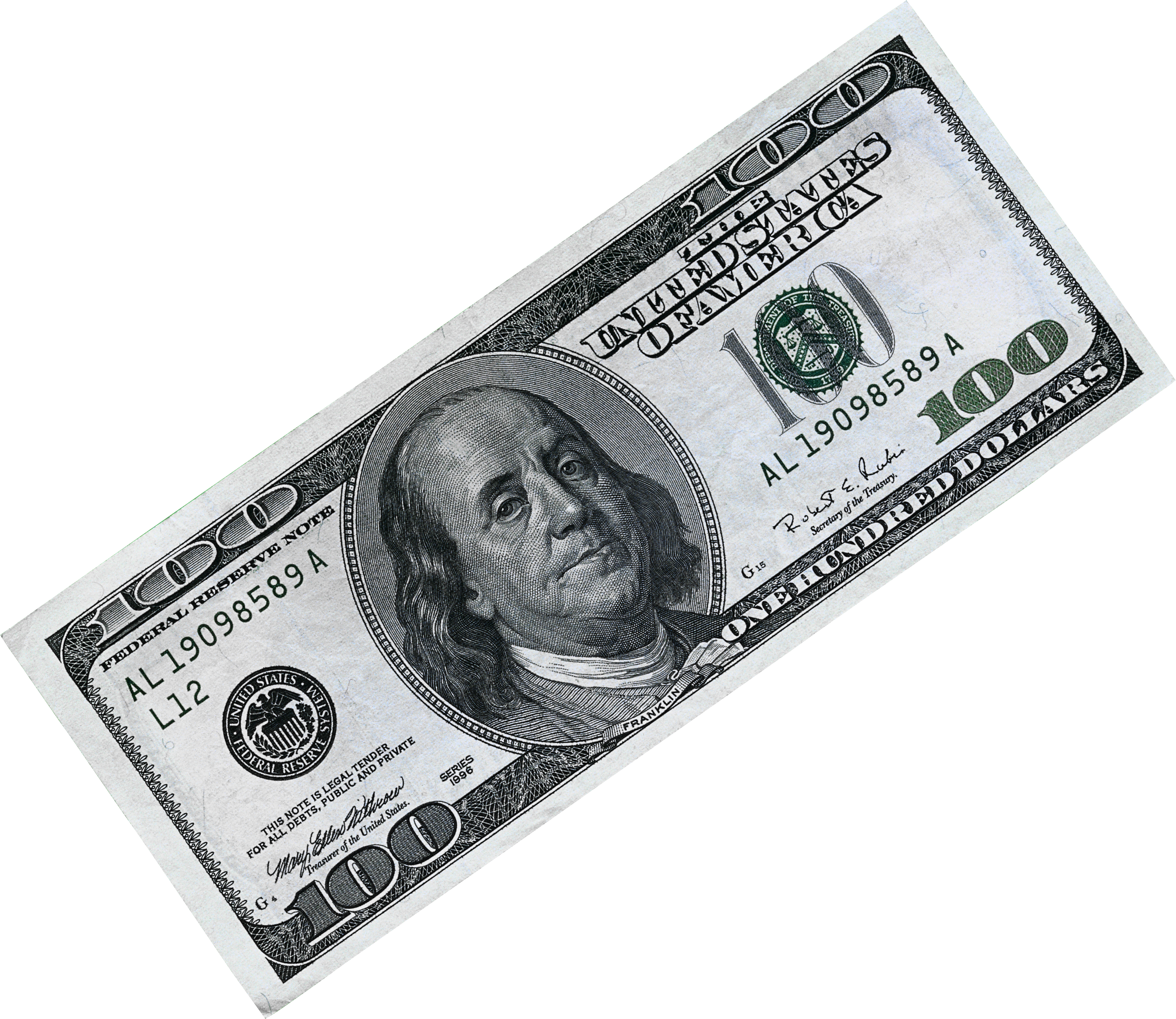 Hundred dollar bills png. Money image free pictures