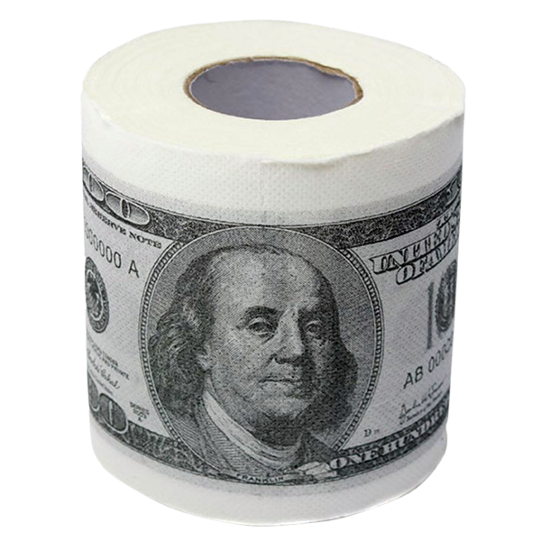 Hundred dollar bills png. Bill toilet paper