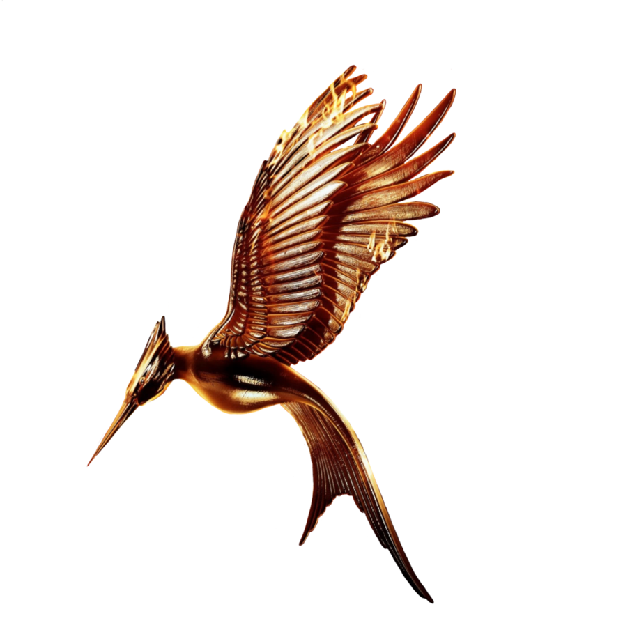 Hunger games catching fire logo png. Movie transparent without ring