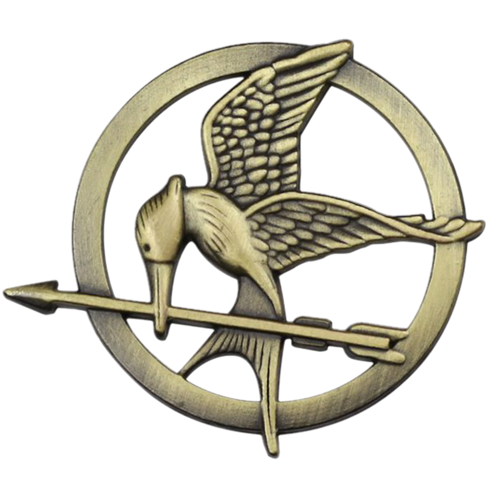 Mockingjay pin png. The hunger games kingsloot