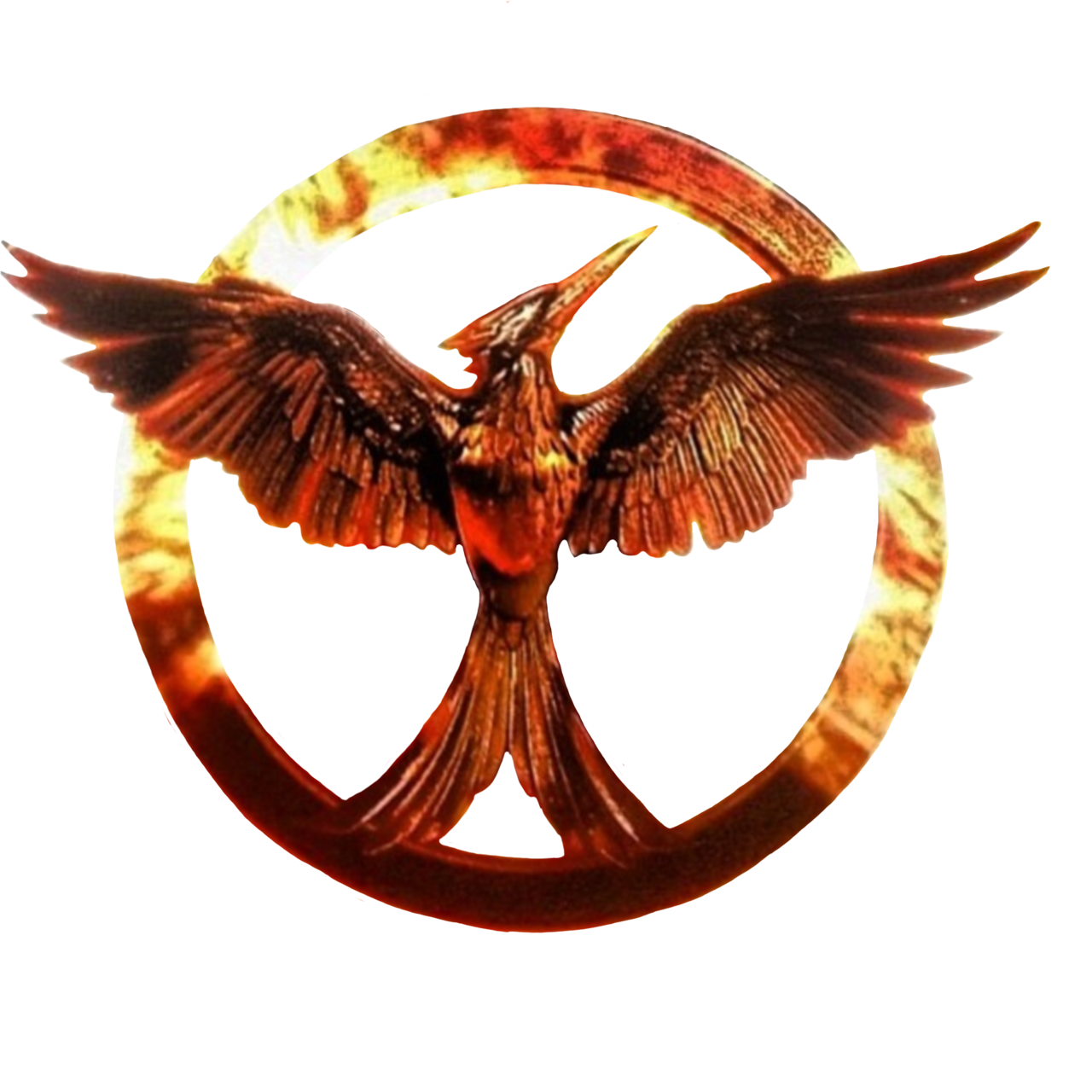 Hunger games pin png. Who saw the movie