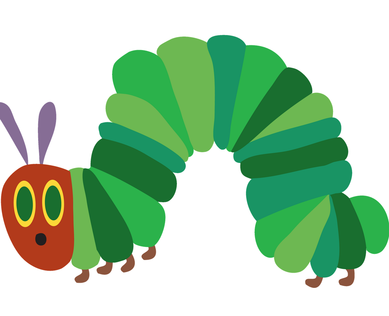 hungry caterpillar sun png