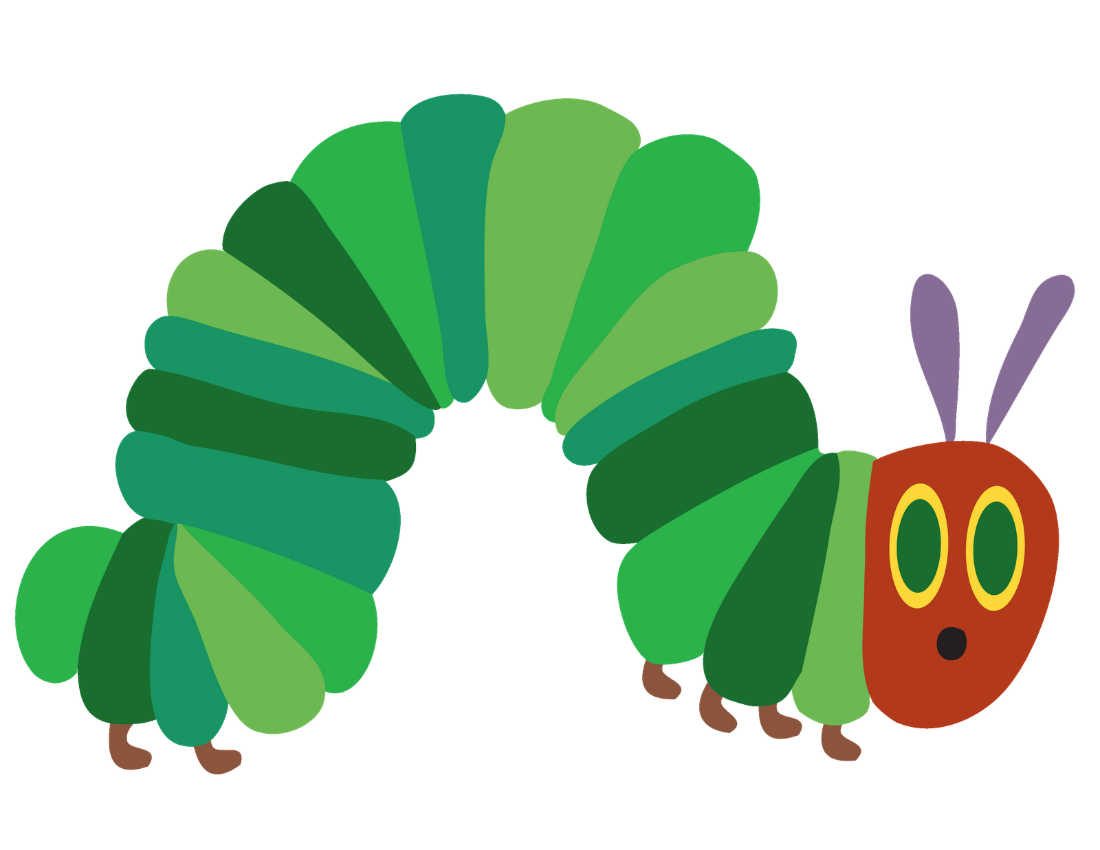 Hungry caterpillar png black and white. The very