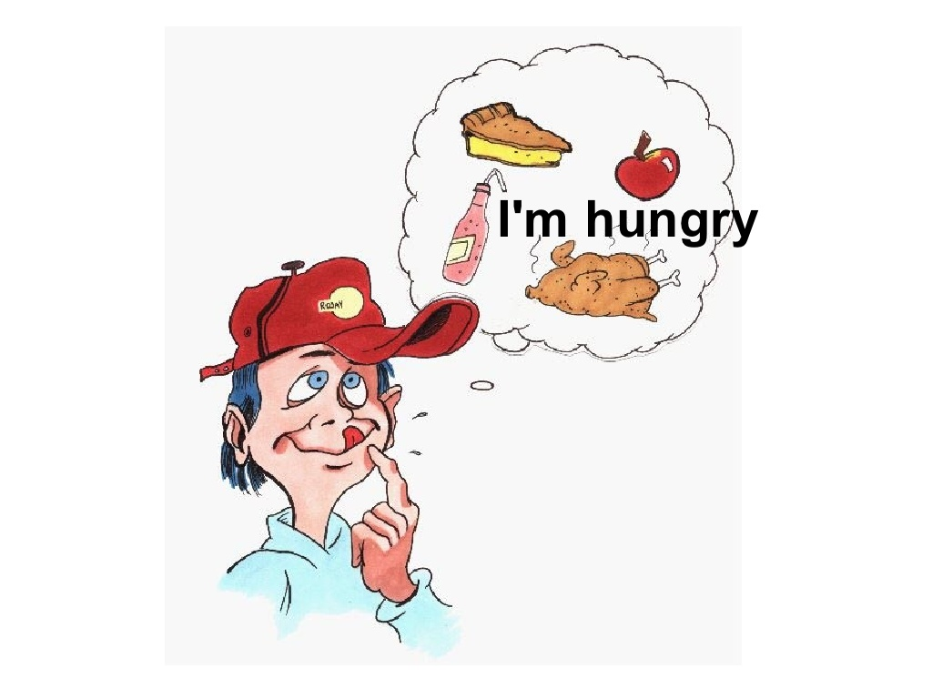 Hungry clipart full. I m