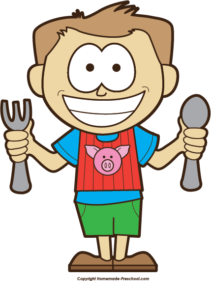 Hungry clipart hungry person. Boy