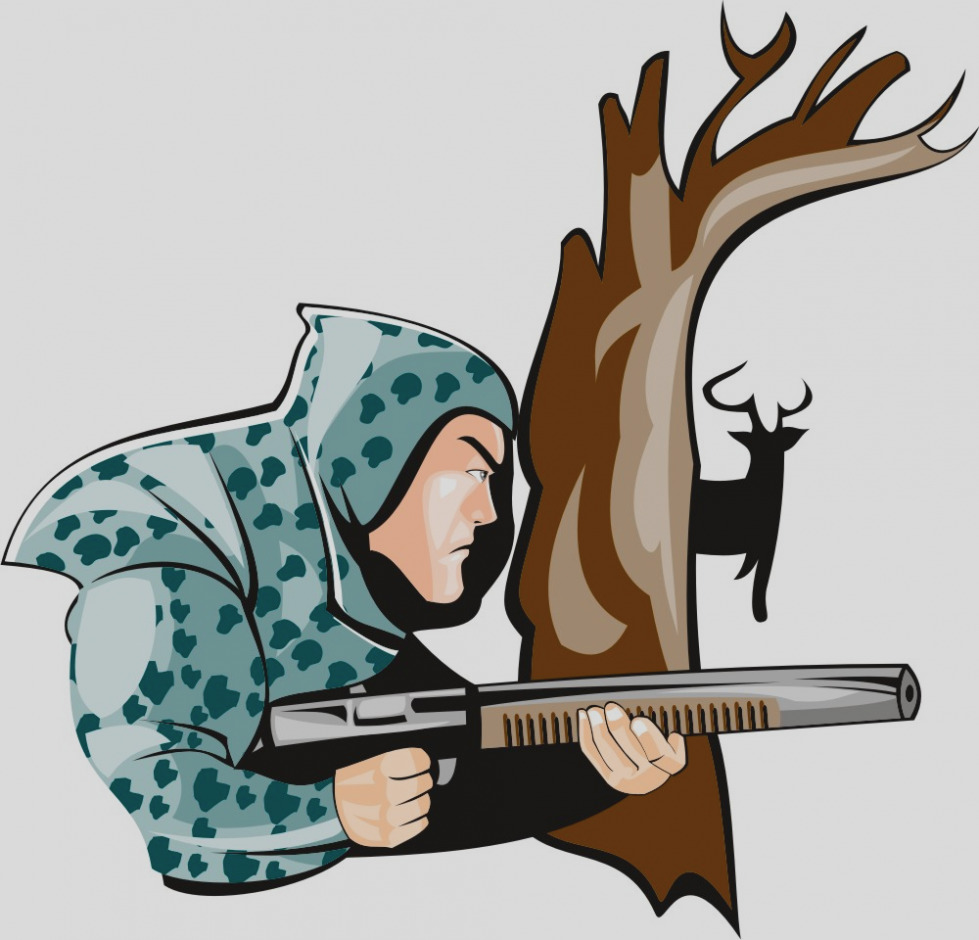 Hunt clipart. Amazing of hunting clip