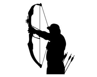 Archery clipart vector. Pix for bow hunter