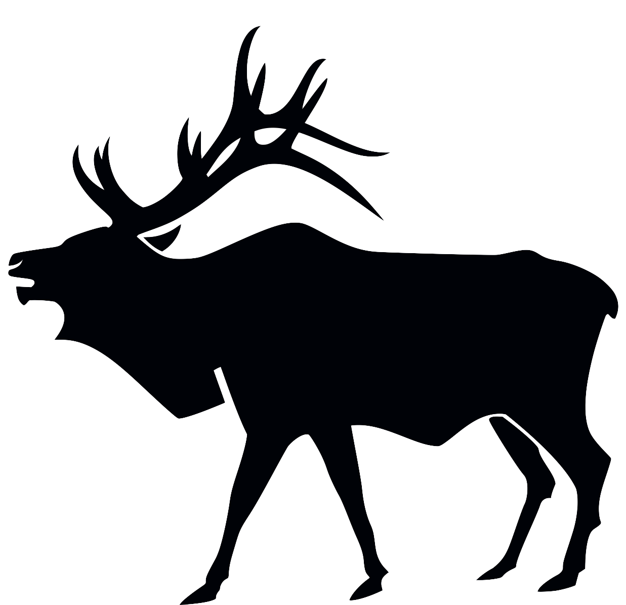 Hunter vector elk hunting. Bow silhouette at getdrawings
