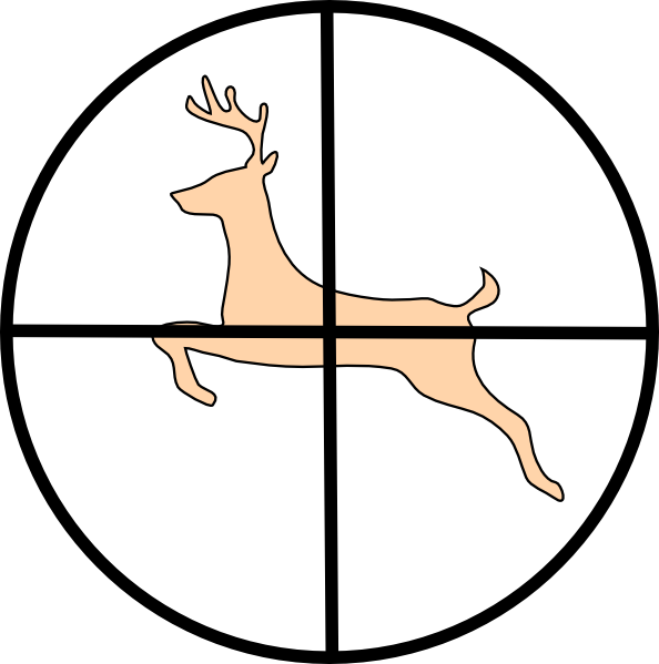 Hunting clipart. Gone