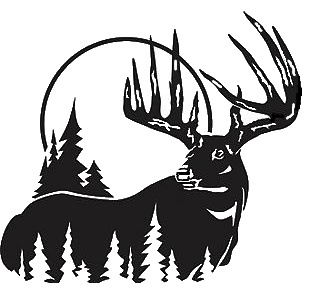 Buck clipart big buck. Fighting