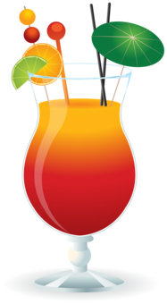 Hurricane clipart abstract. Cocktail tequila sunrise daiquiri