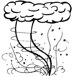 Hurricane clipart coloring page. Free pages www shaqodoon