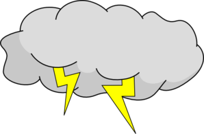 cloud clipart stormy
