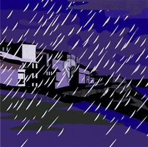 hurricane clipart stormy day