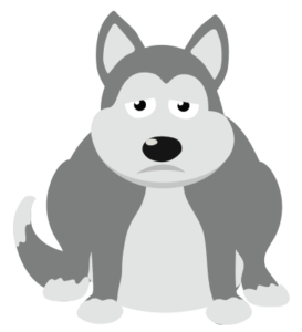 Husky clipart gray dog. Everything you need to