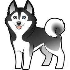 Husky clipart siberian husky. Google search shrinky dinks