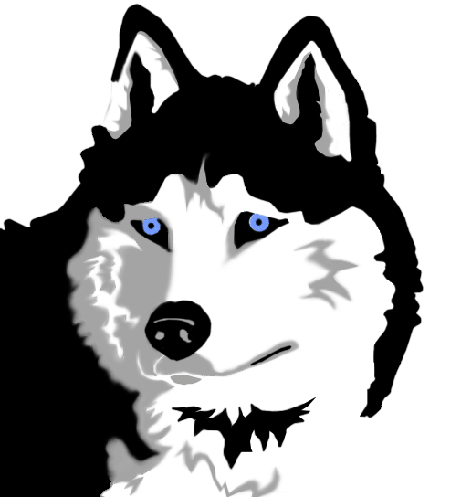 Husky clipart siberian husky. Collection of free