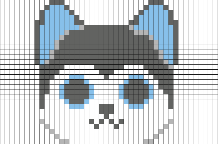 Husky Pixel Art Transparent Png Clipart Free Download Ywd