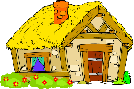 Young people s village. Medieval clipart villager clip art black and white stock