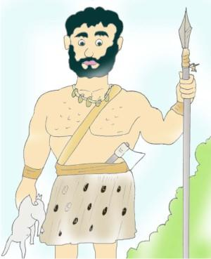 Hut clipart early human. S life humans image