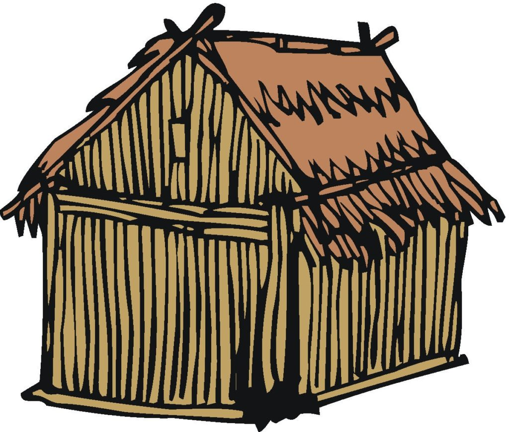 Hut clipart shelter. Of typegoodies me