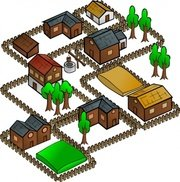 Hut clipart villager indian. Free village art and