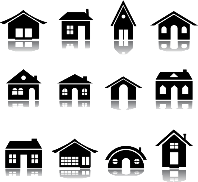 Cottage vector house simple. Free download clip art