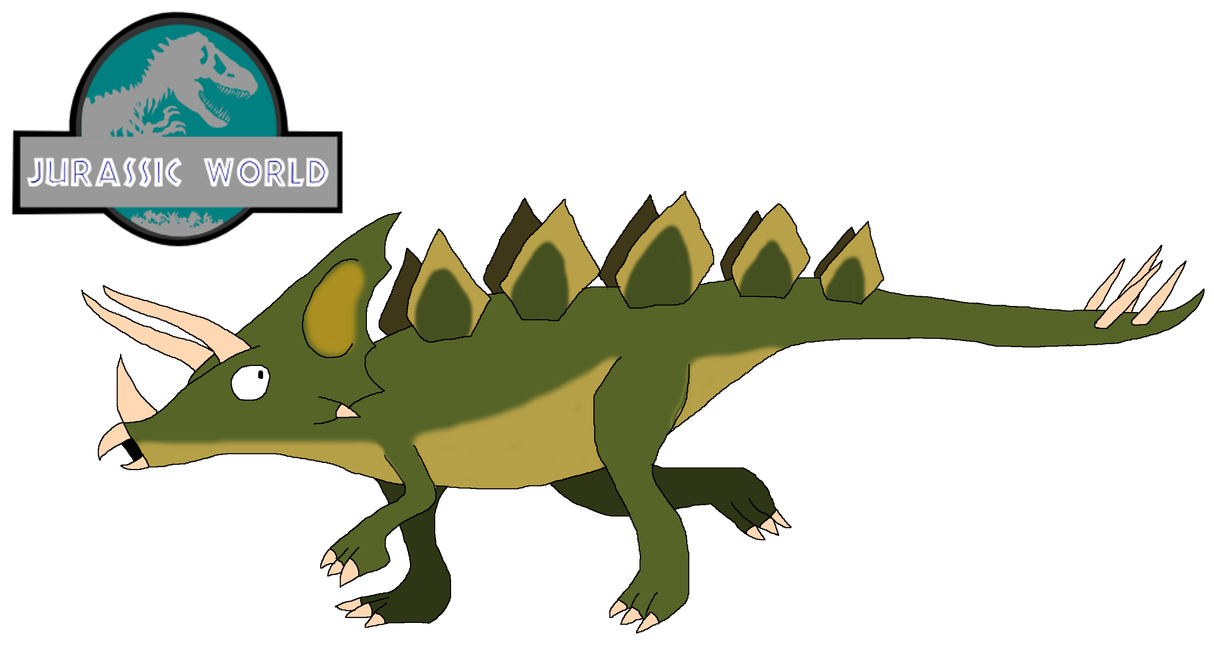 Hybrid drawing t rex. Stegoceratops the lost by
