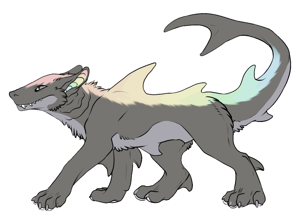 Hybrid drawing werewolf. Speaking of hybrids i