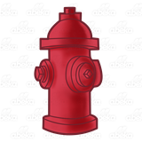 Hydrant clipart firefighter equipment. Abeka clip art red