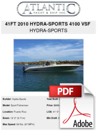Hydrasports vector 25 ft. Hydra sports vsf