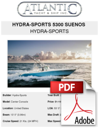Hydrasports vector center console. Hydra sports suenos buy