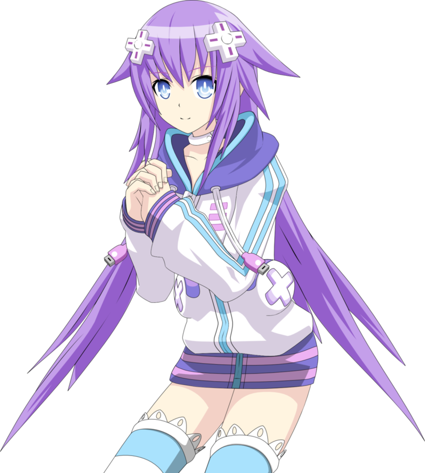 Hyperdimension neptunia neptune png. Image purple heart by